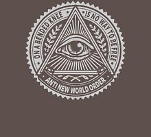Anti New World order - On A Bended Knee Is No Way To Be Free Unisex T-Shirt