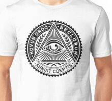 Anti New World Order - Novus Ordo Seclorum Unisex T-Shirt