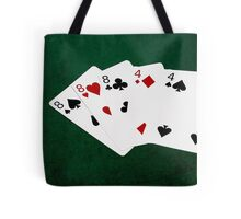 Poker Hands - Full House - Eight and Four Tote Bag