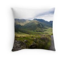 The Great Langdale valley Throw Pillow