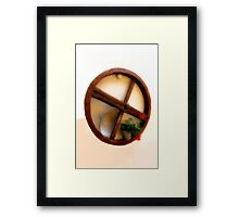 Rustic Touch Framed Print