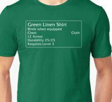 Green Linen Shirt Unisex T-Shirt