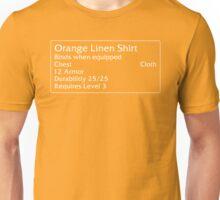 Orange Linen Shirt Unisex T-Shirt