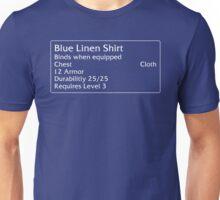 Blue Linen Shirt Unisex T-Shirt