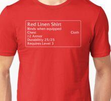 Red Linen Shirt Unisex T-Shirt
