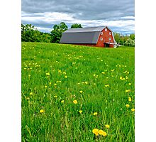 New England Landscape Photographic Print