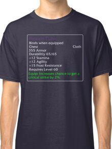 Frozen Tunic Classic T-Shirt