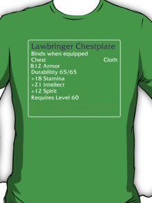 Lawbringer Chestplate T-Shirt