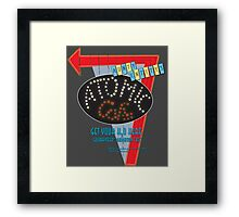 Bartertown's Worst Kept Secret Framed Print