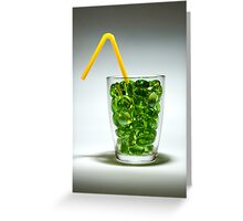 A Drink Greeting Card