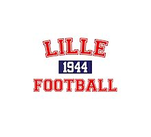 Lille Football Athletic College Style 1 Gray Photographic Print