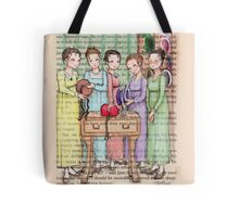 Jane Austen - The Bennet Sisters Go Bonnet Shopping Tote Bag