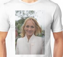 Louise Minchin at the Chelsea flower show 2015 Unisex T-Shirt