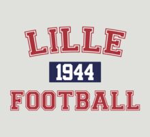 Lille Football Athletic College Style 1 Gray by Toma-51