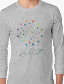Shining abstract dandelion Long Sleeve T-Shirt