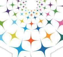 Shining abstract dandelion Sticker
