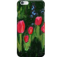 Tulips from the Avian Estates ABSTRACT iPhone Case/Skin