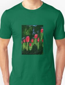 Tulips from the Avian Estates ABSTRACT Unisex T-Shirt