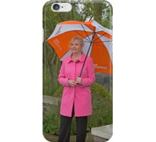 Carol Kirkwood BBC weather girl iPhone Case/Skin