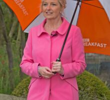Carol Kirkwood BBC weather girl Sticker