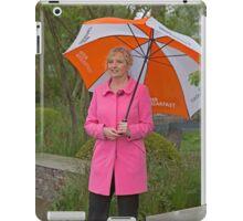 Carol Kirkwood BBC weather girl iPad Case/Skin