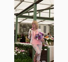 Joanna Lumley at the Chelsea flower show 2015 Unisex T-Shirt