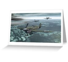 P-40 Warhawk Greeting Card