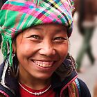 Black Hmong Smile - Sapa, Vietnam by Alex Zuccarelli