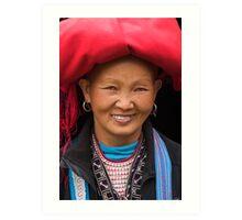 Red Dzao Woman - Sapa, Vietnam Art Print