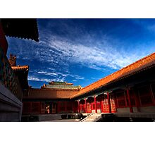 Behai Architecture - The Forbidden City, China Photographic Print