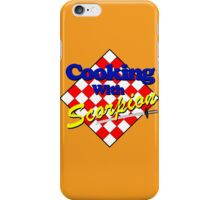 Cooking with Scorpion iPhone Case/Skin