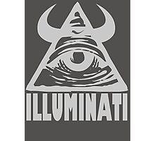 Anti Illuminati Photographic Print