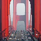 golden gate bridge by peterwey