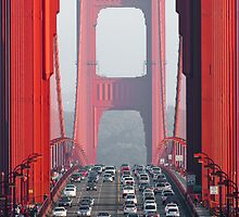 golden gate bridge by peterwey