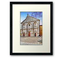 The Cathedral of Santa Maria Assunta Framed Print
