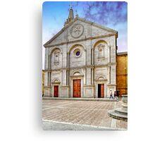 The Cathedral of Santa Maria Assunta Canvas Print