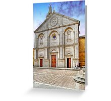 The Cathedral of Santa Maria Assunta Greeting Card