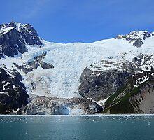 """The Anchor"", Anchor Glacier, Kenai Fjords National Park by Bob Moore"