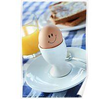Smiling Egg Poster
