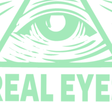 Real Eyes Realise Real Lies Sticker