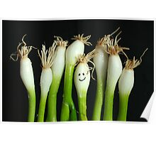 Happy Onions Poster