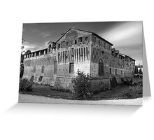 Italian Castles - Castle Of Roccabianca Greeting Card