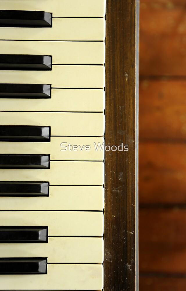 Piano Keys by Steve Woods