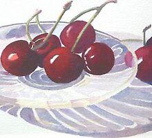 Cherries by Mrswillow