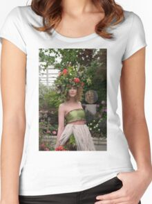 RHS Chelsea Flower Show Women's Fitted Scoop T-Shirt
