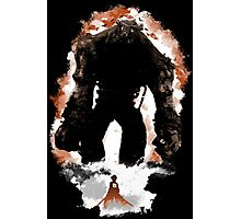 Attack On Colossus Photographic Print