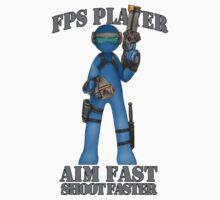 GAMER - FPS GENRE by Squatterloki