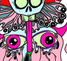 squiddemon Sticker