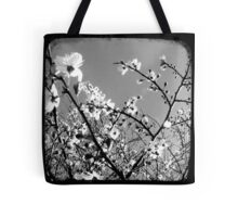 Plum Blossoms Through The Viewfinder (TTV) Tote Bag