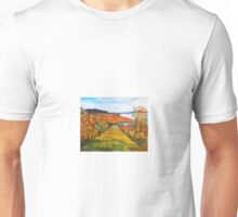 Brome Sky Hill in the Fall Unisex T-Shirt